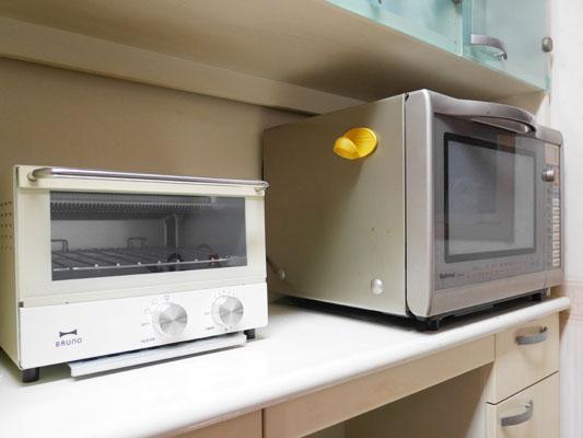 オーブントースター BRUNO「ダブルヒータートースター」サイズ感 大きさ