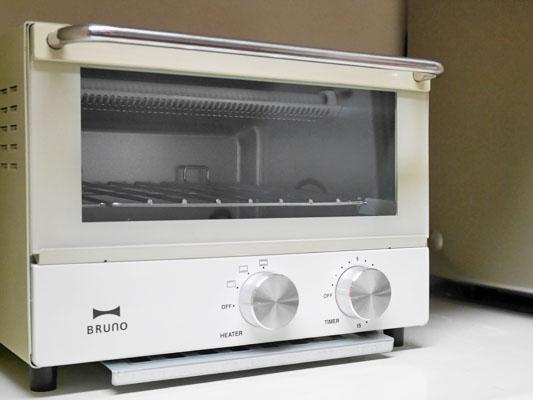 オススメ オーブントースター BRUNO「ダブルヒータートースター」クチコミ