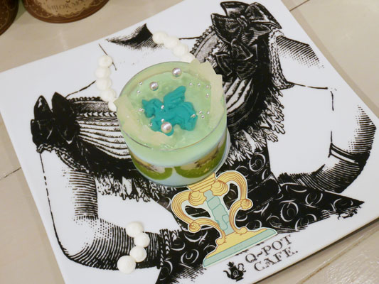 シュクレ ドゥ レーヴ ケーキ Q-pot CAFE.(キューポットカフェ)×セーラームーンコラボ