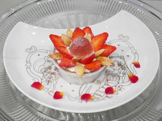 まぼろしの銀水晶タルト Q-pot CAFE.(キューポットカフェ)×セーラームーンコラボ 店内