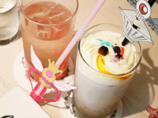 スペシャルドリンク Q-pot CAFE.(キューポットカフェ)×セーラームーンコラボ