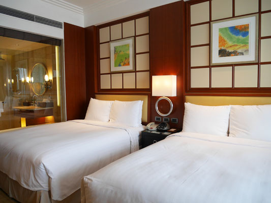 上海旅行 ホテル 上海マリオットホテル シティセンター 部屋 口コミ 感想