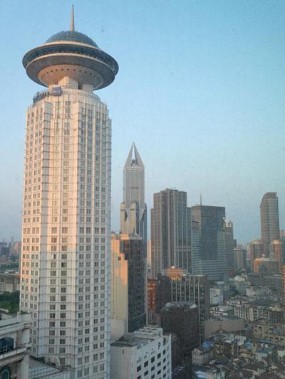 上海旅行 ホテル 上海マリオットホテル シティセンター 滞在レポート
