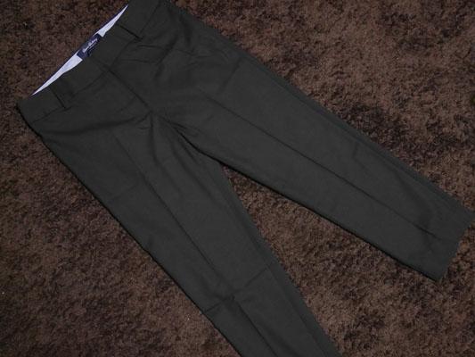 ランズエンド 美型シルエット・スムーズストレッチ・体型別パンツ 裾上げカスタム
