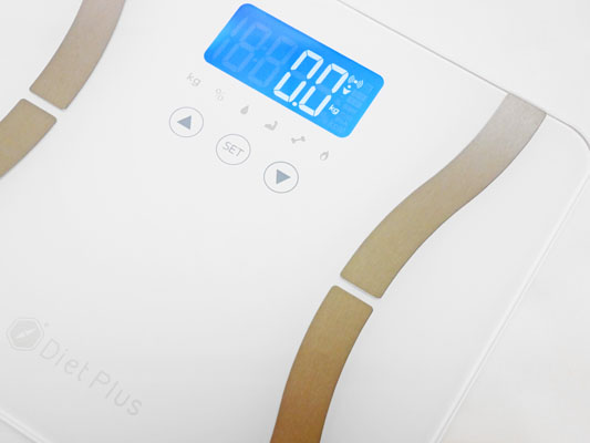 Diet Plus 体重体組成計 Bluetooth連動 アプリで体重管理