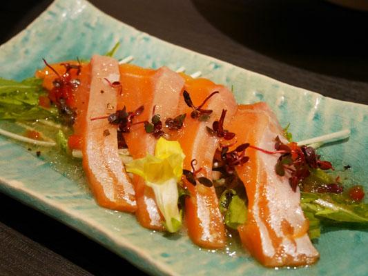 日の膳 千葉店 風コース 夏の鮮魚カルパッチョ
