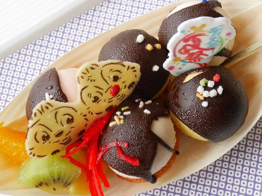 ディズニーアンバサダーホテル ハイピリオン・ラウンジ ディズニー夏祭りケーキセット スイーツ たこ焼き
