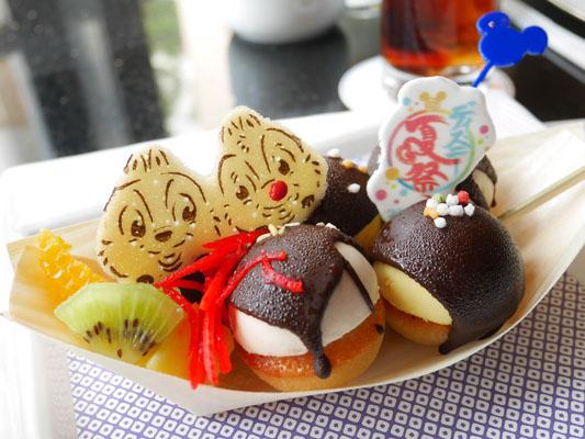 ディズニーアンバサダーホテル ハイピリオン・ラウンジ ディズニー夏祭りケーキセット 味 感想