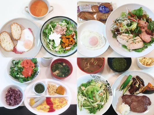 ダイエットプラスラボ 食事指導 食べていた食事内容