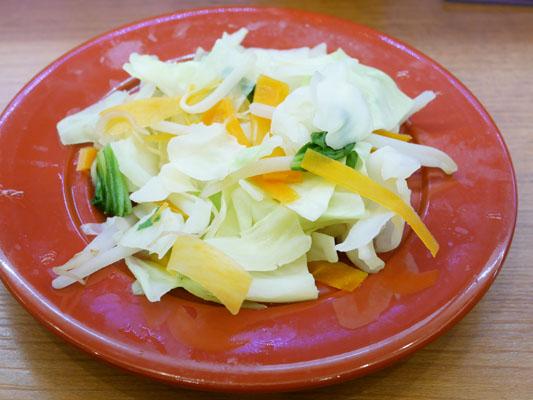 くら寿司 糖質オフメニューと一緒にトッピング野菜を