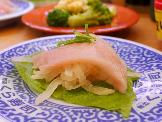 くら寿司 糖質オフメニュー シャリ野菜