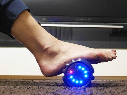 ドクターエア「3Dマッサージロール」足裏 血行促進
