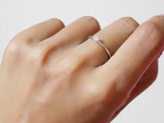 フェスタリア ビジュソフィア シンプル一粒石指輪 プレゼント
