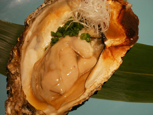 NEW江戸前STYLE 本丁 厚岸産牡蠣のバター正油焼き