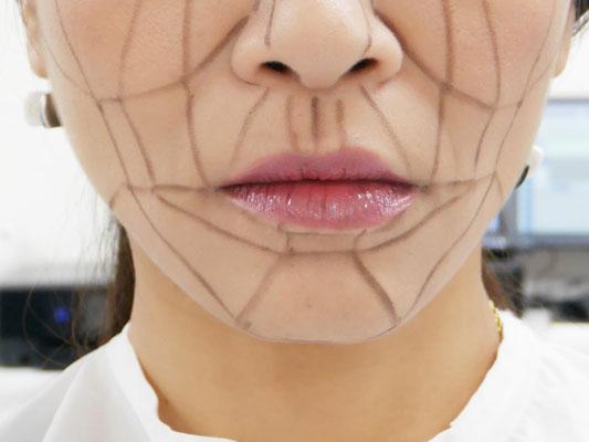 MAMEW(マミュー)骨筋メイク 自分の顔に合わせたメイク方法