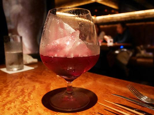 新橋 焼肉 YAKINIKU FUTAGO ノンアルコール ペアリング ブドウジュース