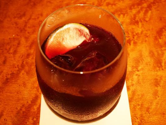 新橋 焼肉 YAKINIKU FUTAGO ノンアルコール ペアリング クランベリーとブドウジュース