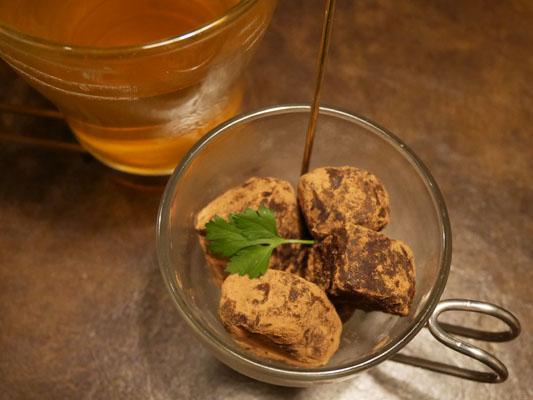 プロースト東京 コース シェフ自家製濃厚生チョコレート