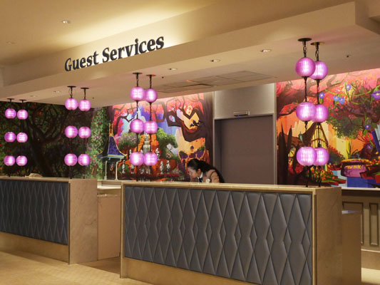 東京ディズニーセレブレーションホテル サービス