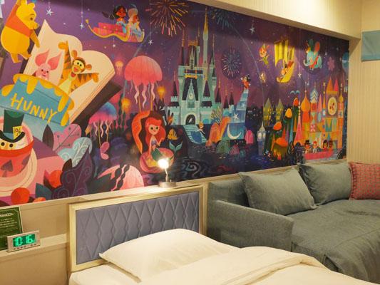 東京ディズニーセレブレーションホテル 部屋 写真