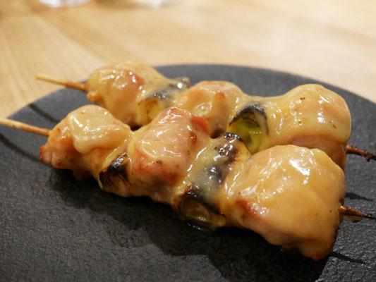 焼鳥 ふくなが ねぎま 特製白味噌ダレ