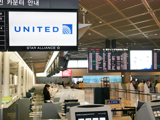 ユナイテッド航空 成田空港 ターミナル 第1ターミナル 南ウイング