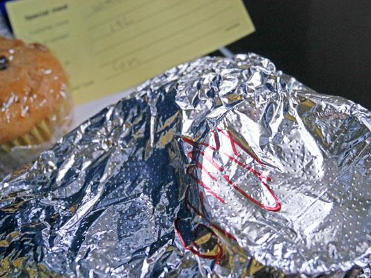 ユナイテッド航空 特別機内食 グルテンフリー 口コミ