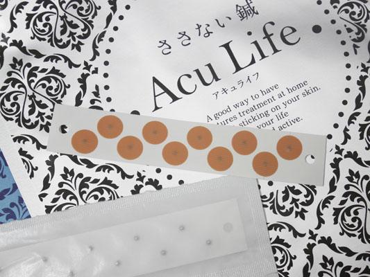 ささない鍼 Acu Life(アキュライフ)と円皮鍼の違い