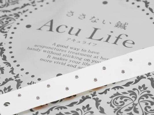 ささない鍼 Acu Life(アキュライフ) 金属の粒 刺激 レビュー
