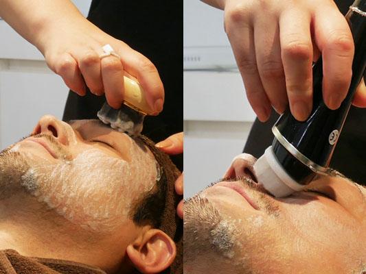 ポアレスラボ・ジェンダーレスサロン マルイシティ横浜 男性 洗顔