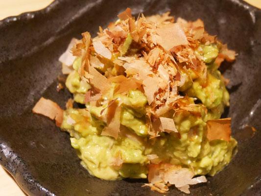 神田 居酒屋 蔵KOKORI 鶏アボカドの奈良漬け和え