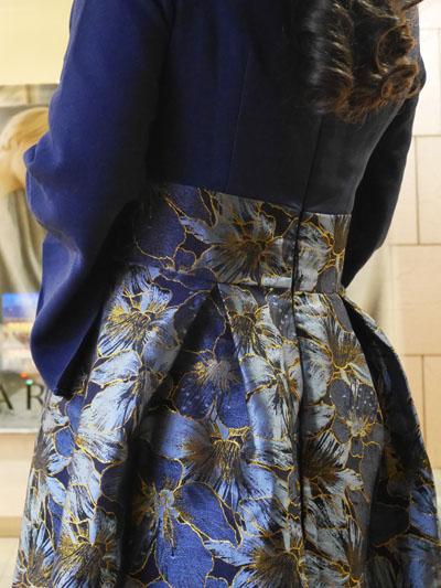結婚式 ワンピース スカート ボリューム