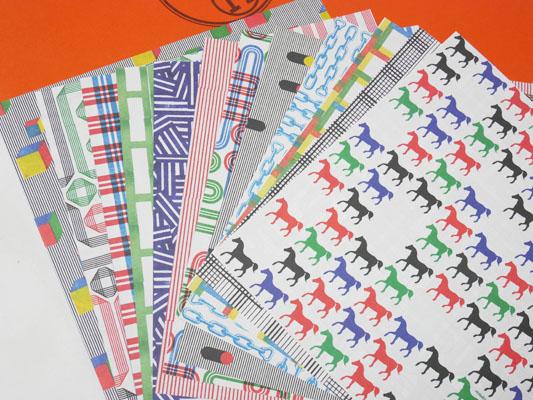 高級折り紙 HERMES(エルメス)のORIGAMI