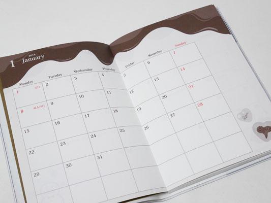 Q-pot. キューポット スケジュール帳 カレンダー 口コミ