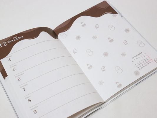 Q-pot. キューポット 週カレンダー 口コミ