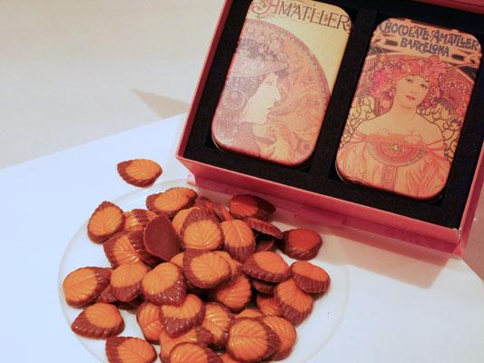 スペイン チョコレート アマリエ ミュシャデザイン 購入