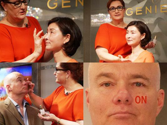 GENIE(ジーニー)創立者 リサ・クレイコム インスタントラインスムーサー