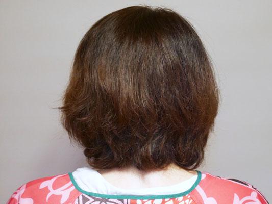 ミネコラ使用 クセ毛がひどい友人