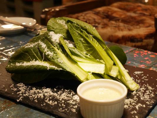 FES by asobi(フェスバイアソビ)西船橋 平野農園からの朝採れ小松菜サラダ
