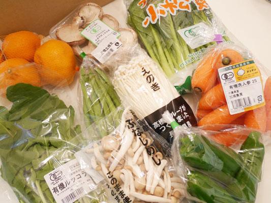 表参道 オーガニック食材 ナチュラルハウス トライアルセット 季節の野菜 ネタバレ