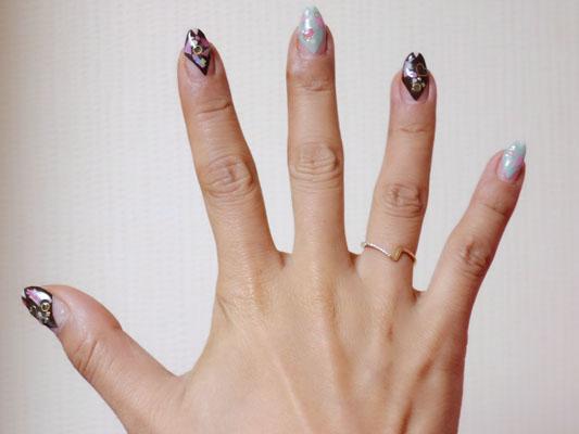 SIENA ROSE(シエナロゼ)数字デザイン 中指 指輪