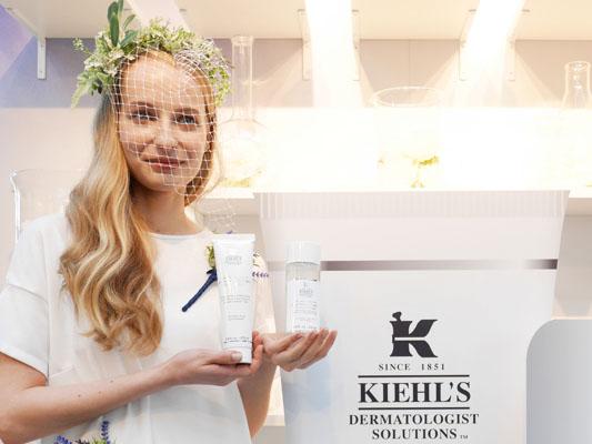 キールズ 美白ライン スクラブ洗顔料と化粧水 リニューアル