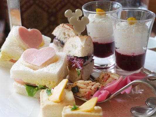 東京ディズニーランドホテル ミニーのアフタヌーンティー セイボリー