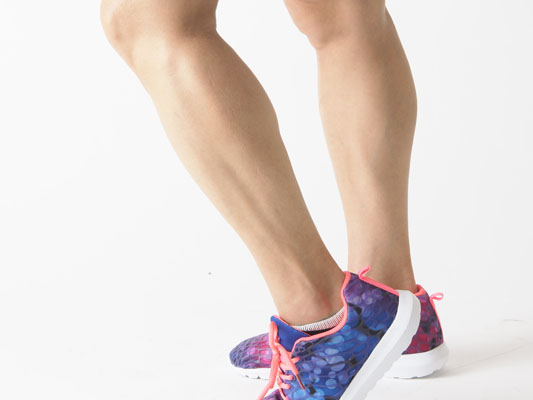 パーソナルトレーニング 脚の筋肉 アスリートみたい