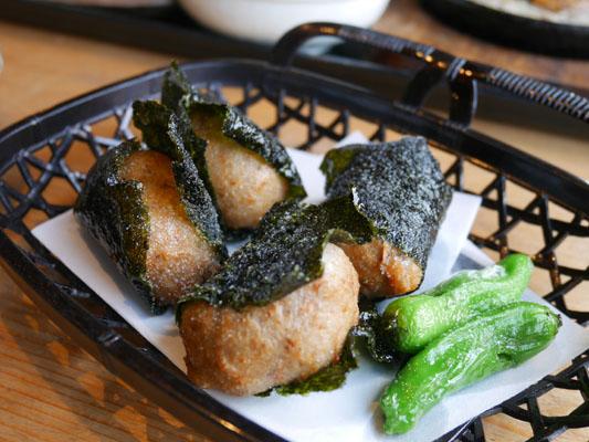 箱根ランチ 山薬 単品料理 自然薯の磯辺揚げ
