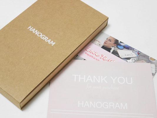 HANOGRAM(ハノグラム)スマホケース 名前入り カスタム プレゼント