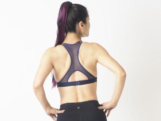 トレーニングにオススメ 筋肉女子 スタイルアップ 背中美人
