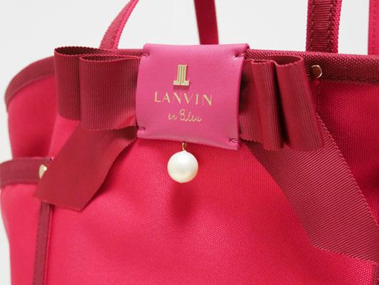 LANVIN en Bleu(ランバン オン ブルー)「ジュール トートバッグ」口コミ レビュー ブログ