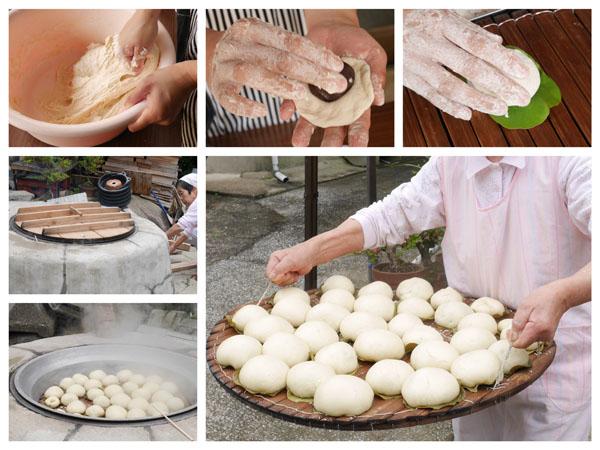 長崎県佐世保市黒島 体験 ふくれ饅頭作り