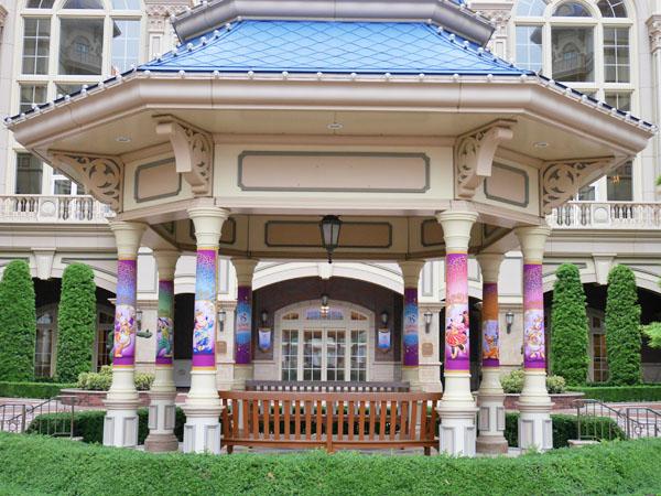 東京ディズニーランドホテル 35周年ディスプレイ